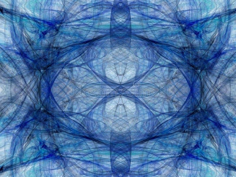abstracte achtergrond Digitale collage met fractals stock afbeelding
