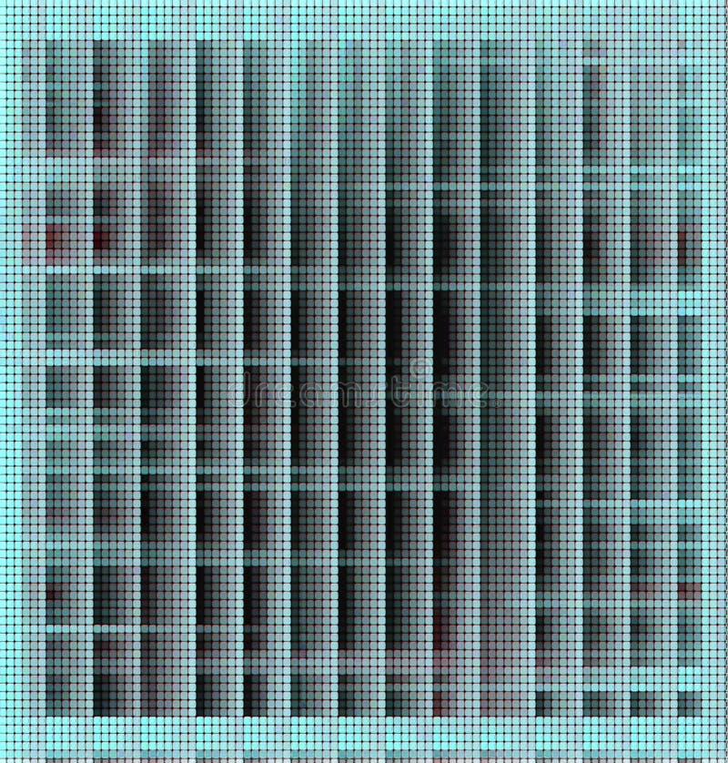 Abstracte achtergrond in fosforescerende tinten stock illustratie