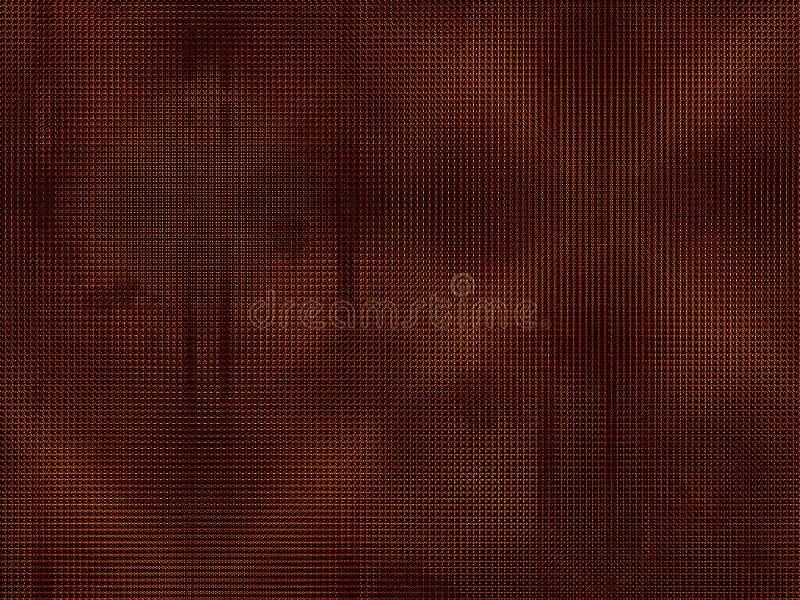 Abstracte achtergrond Gestippelde textuur, donkere versie vector illustratie
