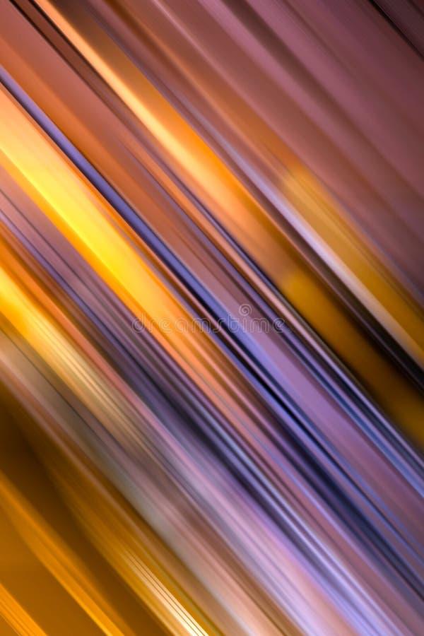 Abstracte achtergrond in gouden en violette tonen royalty-vrije stock fotografie