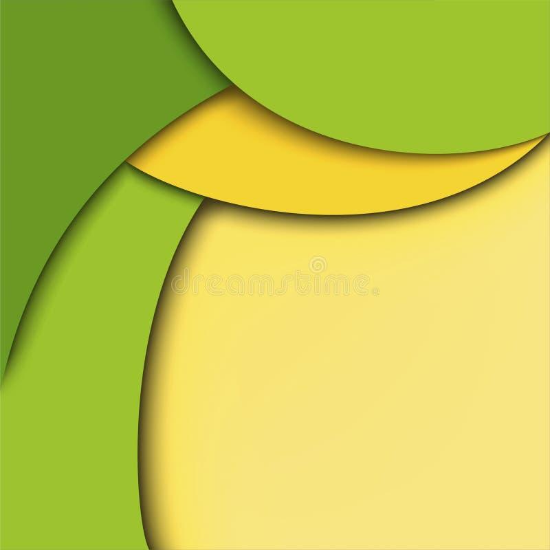 Download Abstracte Achtergrond. Groen En Geel Stock Illustratie - Illustratie bestaande uit grafisch, collectief: 29506319