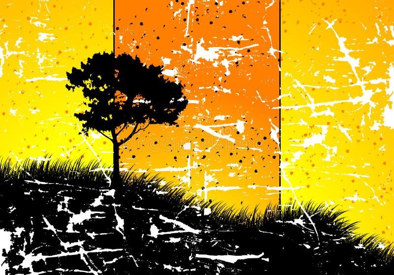 Abstracte Achtergrond Grunge vector illustratie