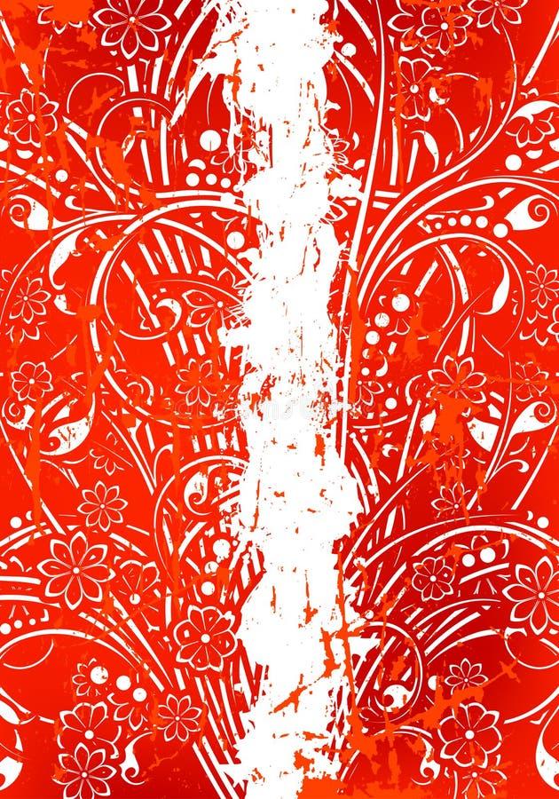 Abstracte Achtergrond Grunge royalty-vrije illustratie