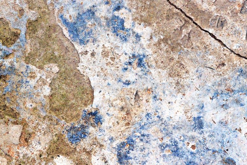 Abstracte Achtergrond Grunge Concrete muur Gebarsten concrete tekst stock fotografie