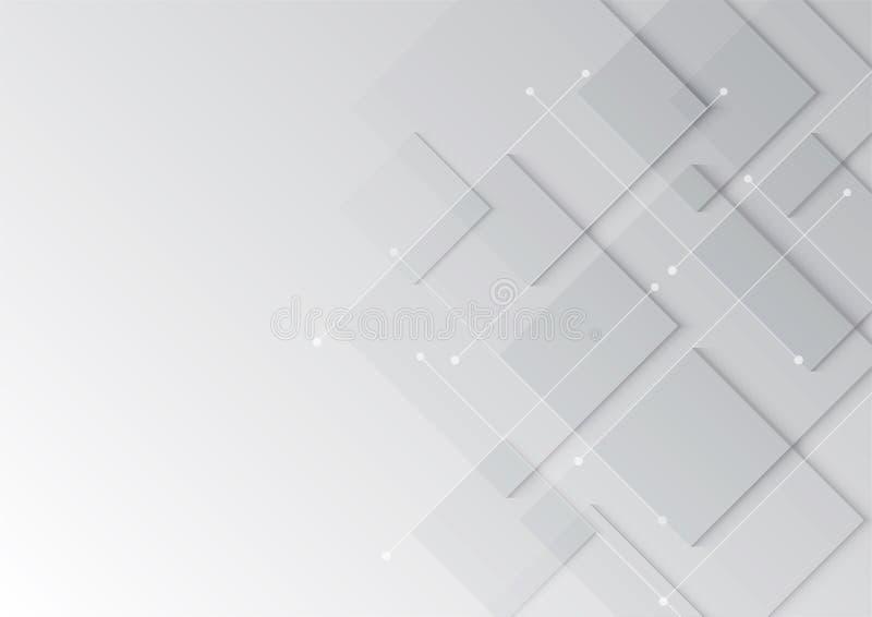 Abstracte achtergrond, Grunge retro voor gebruik in ontwerp, teruggegeven lijnenachtergrond stock illustratie