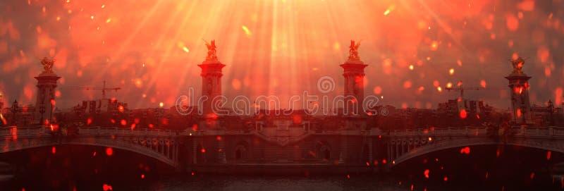 Abstracte achtergrond met architectuur, elementen, geschiedenis royalty-vrije stock foto