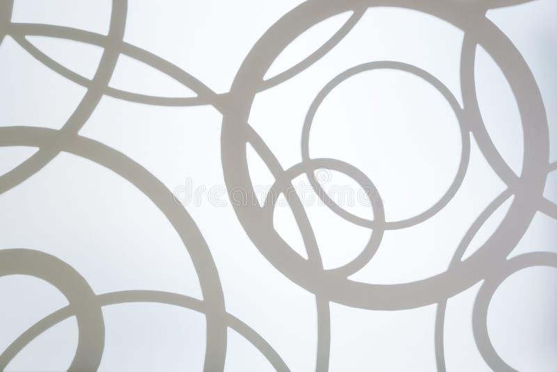 Abstracte achtergrond met cirkels royalty-vrije stock afbeeldingen