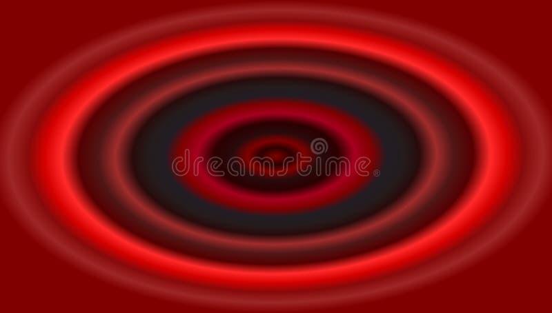 Abstracte achtergrond met de vectoren van de cirkelsillustratie royalty-vrije illustratie