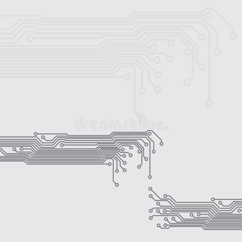 Abstracte achtergrond met een textuur van de kringsraad vector illustratie
