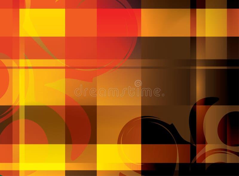 Abstracte achtergrond met gekruiste lijnen - eps vector illustratie