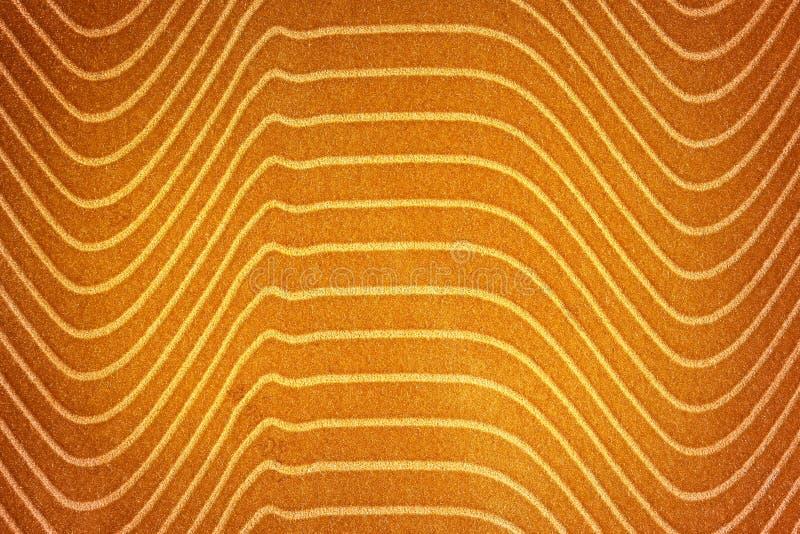 Abstracte achtergrond met gele textuur, fluweelstof, lijngra stock foto