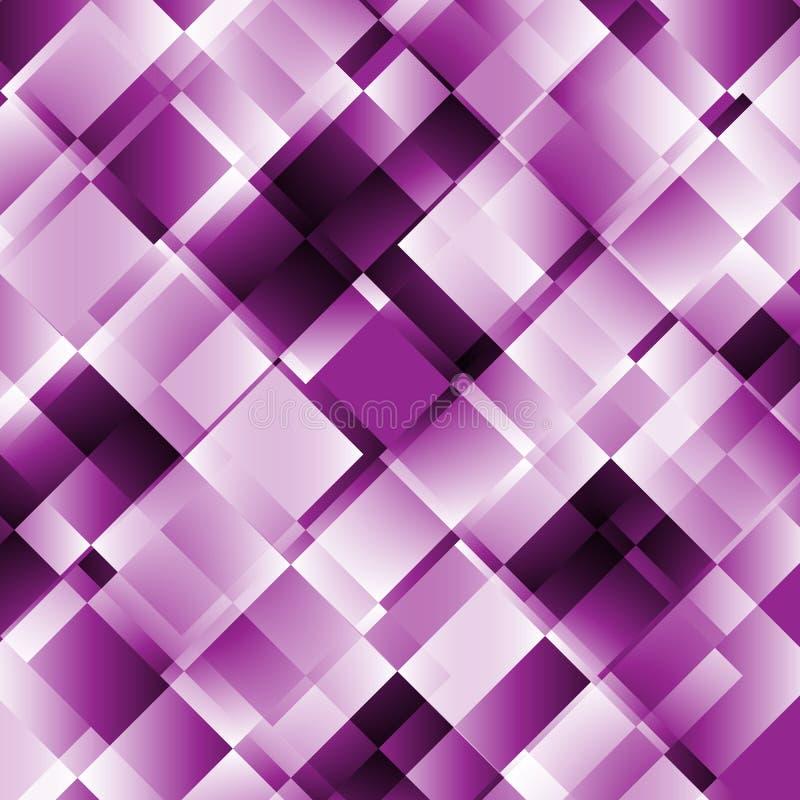 Abstracte achtergrond met geometrisch patroon royalty-vrije illustratie