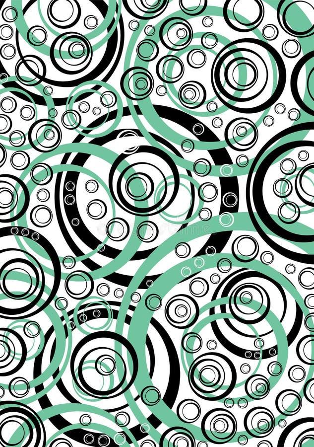 Abstracte achtergrond met geometrische elementen vector illustratie