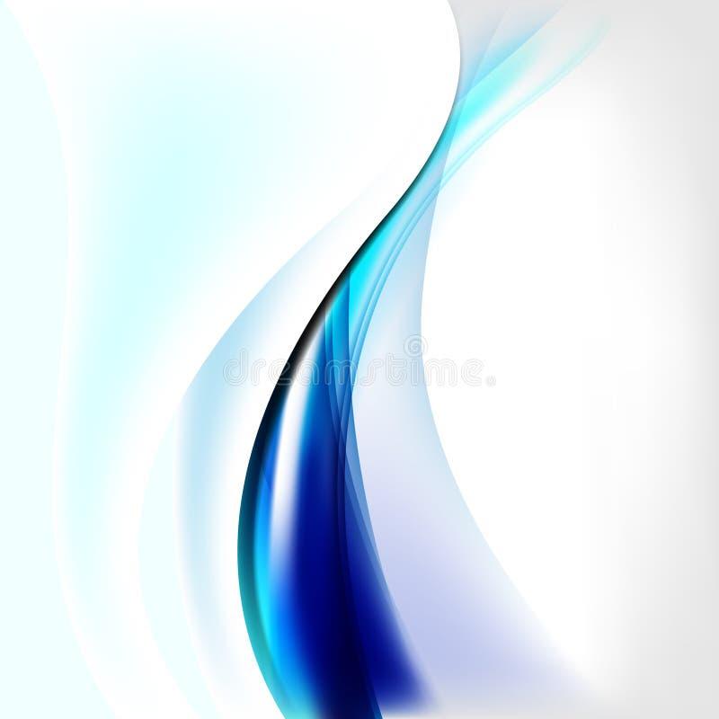 Abstracte achtergrond met golven en lijnen vector illustratie