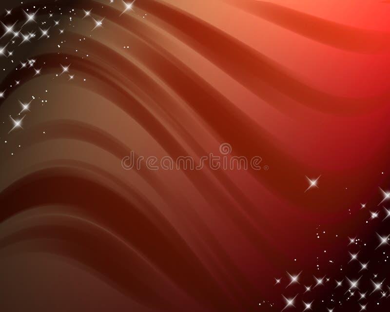 Abstracte achtergrond met golvende lijnen en gradiënt stock illustratie