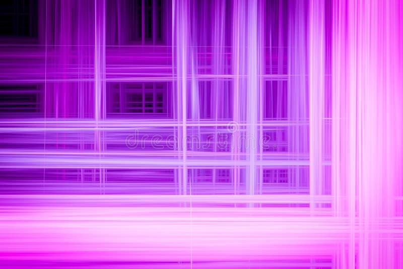 Abstracte achtergrond met horizontale en verticale verstoring stock illustratie