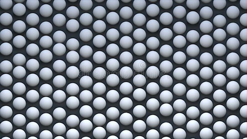 Abstracte achtergrond met isometrische gebieden op oppervlakte, het 3d teruggeven vector illustratie