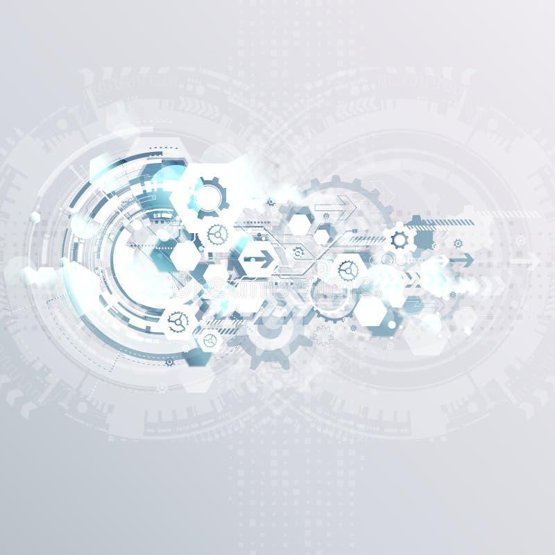 Abstracte achtergrond met kleurrijke golven Vector Elegant golvend ontwerp royalty-vrije stock afbeelding