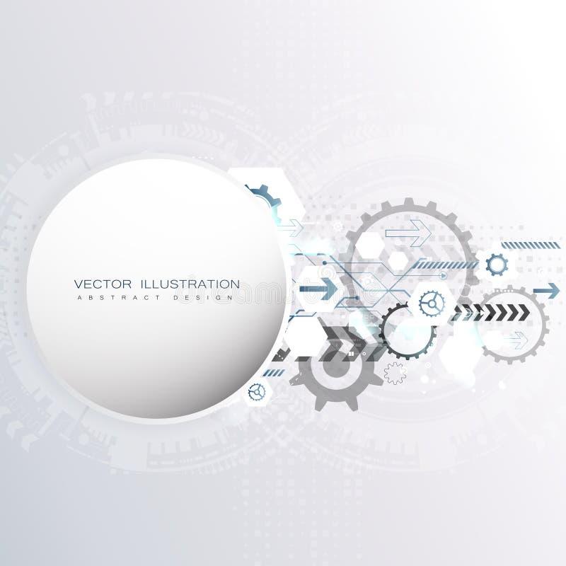 Abstracte achtergrond met kleurrijke golven Vector Elegant golvend ontwerp stock fotografie