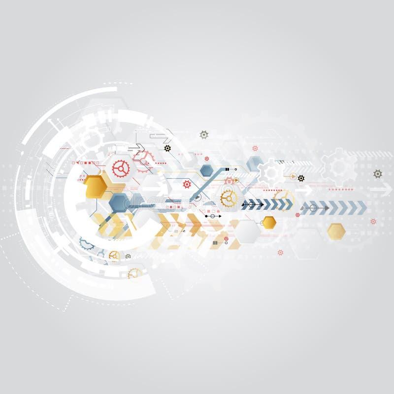 Abstracte achtergrond met kleurrijke golven Vector Elegant golvend ontwerp stock afbeeldingen