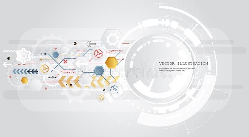 Abstracte achtergrond met kleurrijke golven Vector Elegant golvend ontwerp royalty-vrije stock fotografie