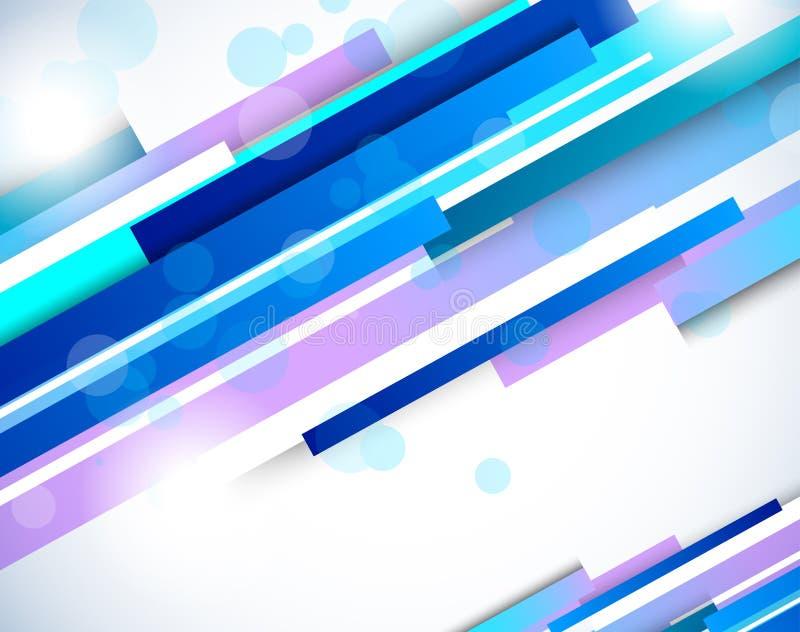 Abstracte achtergrond met lijnen royalty-vrije illustratie