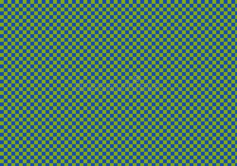 Abstracte achtergrond met schaakpatroon stock illustratie