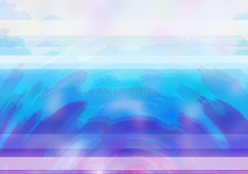 Abstracte Achtergrond met schaduwen van kleur van viooltje, wit blauw, stock illustratie