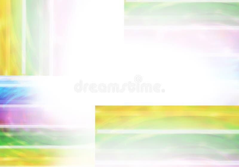 Abstracte Achtergrond met schaduwen van kleur van viooltje, wit blauw, royalty-vrije illustratie