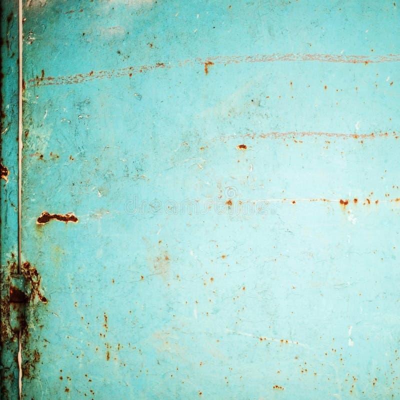 Abstracte achtergrond met schijnwerper en krassen donker stock fotografie