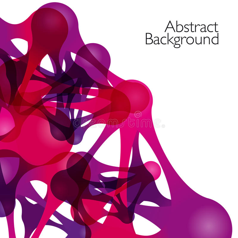Abstracte achtergrond met vectorontwerpelementen vector illustratie
