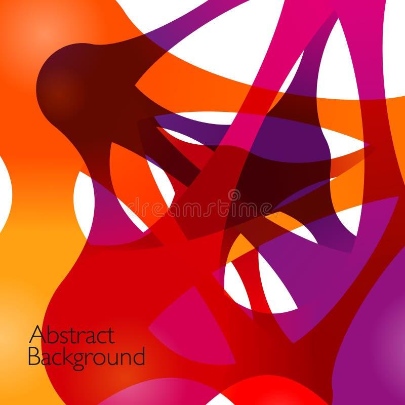 Abstracte achtergrond met vectorontwerpelementen royalty-vrije illustratie