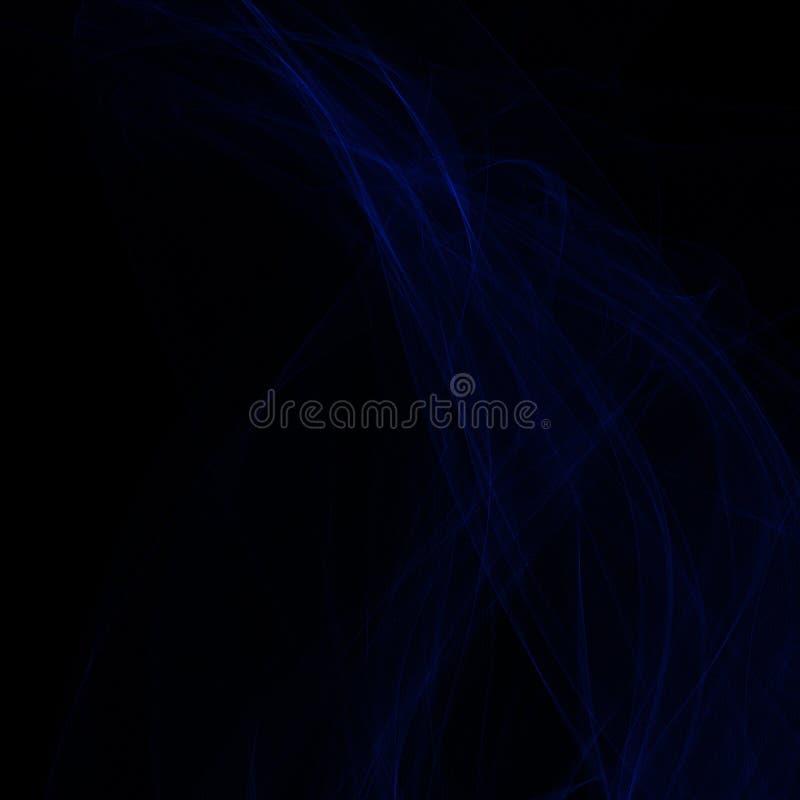 abstracte achtergrond Moderne futuristische illustratie magische vorm van rook vector illustratie