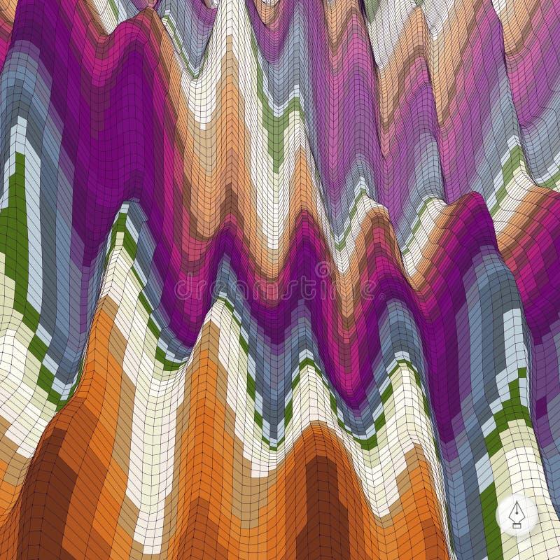 abstracte achtergrond mozaïek Vector illustratie royalty-vrije stock foto