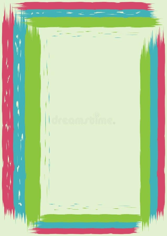 Abstracte achtergrond - scharrenverf vector illustratie