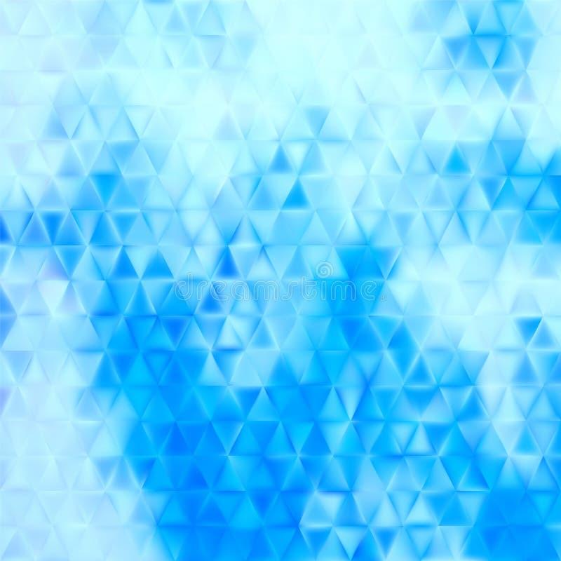 Abstracte achtergrond - triangtes stock illustratie