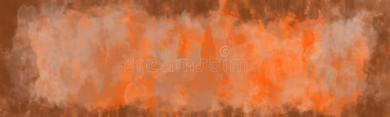 Abstracte achtergrond, uitstekende textuur met grens royalty-vrije illustratie