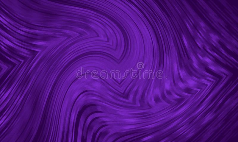 abstracte achtergrond ultraviolette buigende lijnen van vlam stock illustratie