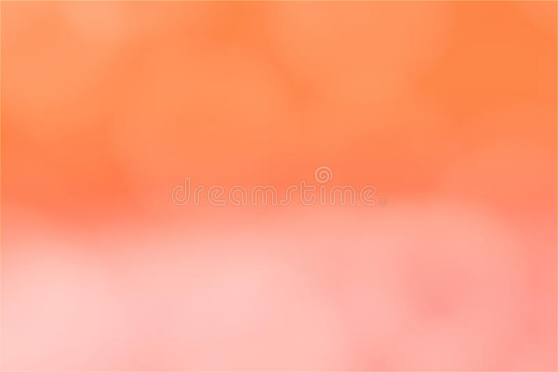 Abstracte achtergrond vage gradiënt oranje roze bokeh stock afbeelding