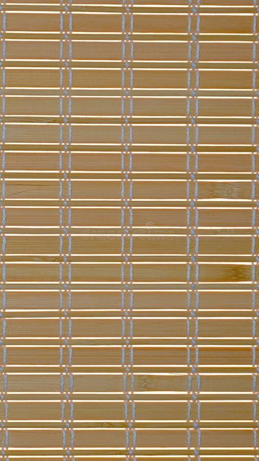 Abstracte achtergrond van dunne smalle die stroken met dikke witte zijdedraden worden geweven stock afbeelding
