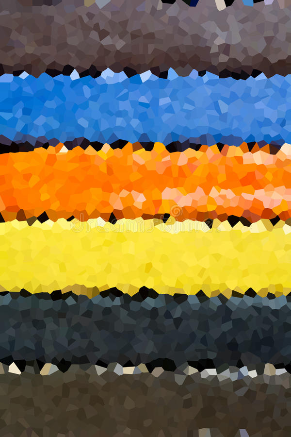 Abstracte achtergrond van gekristalliseerd vector illustratie