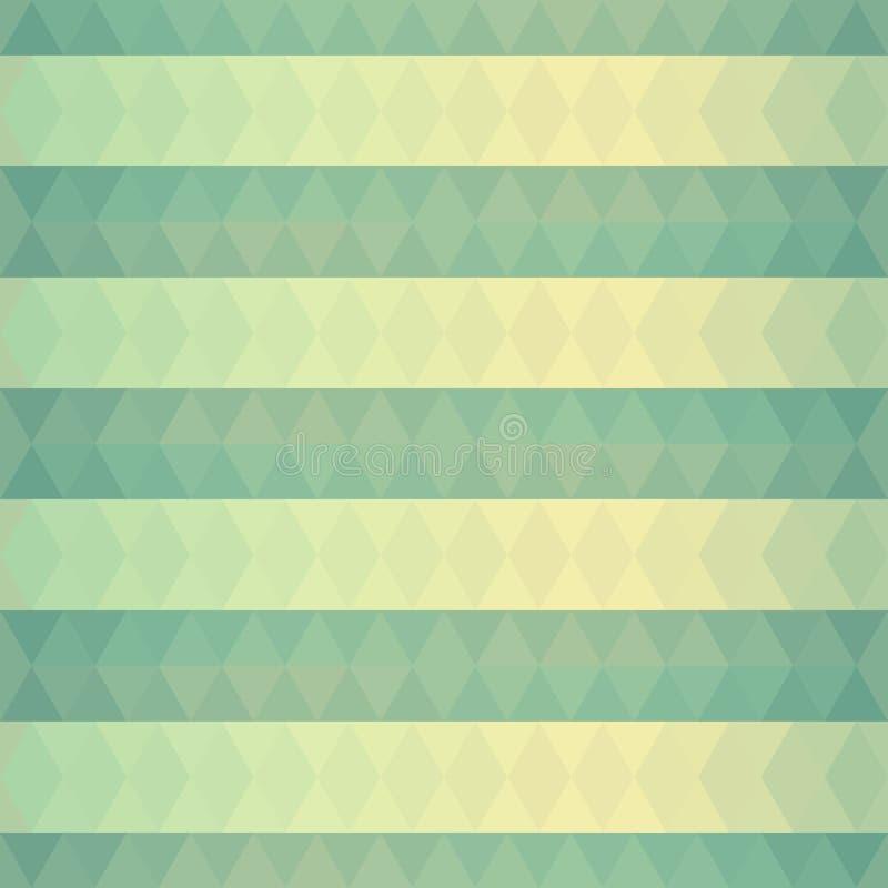 Download Abstracte Achtergrond Van Groene Driehoeken Vector Illustratie - Illustratie bestaande uit licht, stroom: 39105664
