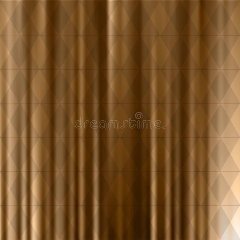Abstracte achtergrond van identieke diamanten met verschillende schaduwen van kleur gradiënt stock illustratie