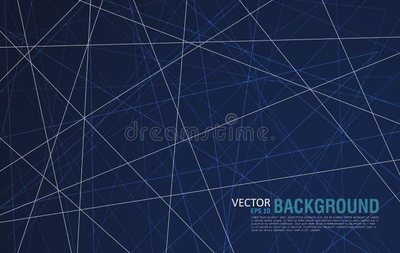Abstracte achtergrond van lijnen Plaats voor tekst stock afbeeldingen