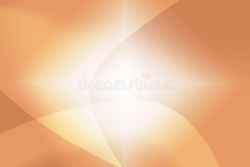 Abstracte achtergrond van oranje mooie bokeh stock foto