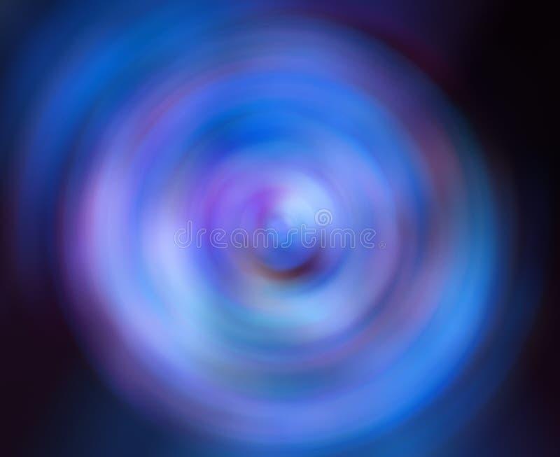 Abstracte Achtergrond van Radiaal de Motieonduidelijk beeld van de Rotatiecirkel stock afbeelding