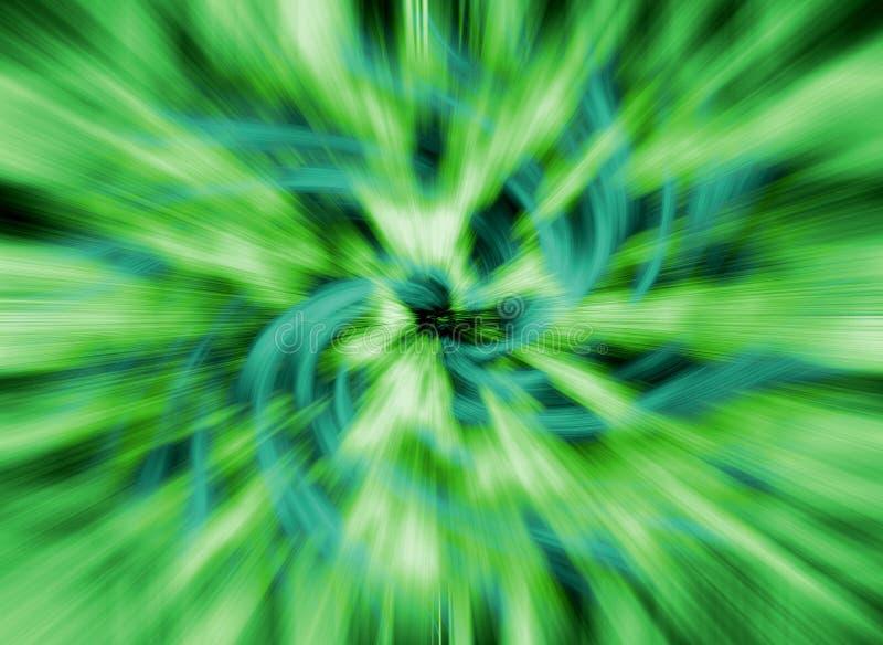 Abstracte achtergrond van spiraalvormige rassenbarrières stock illustratie