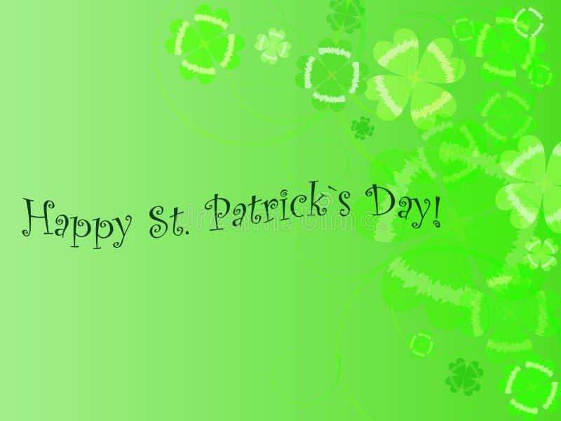 Abstracte achtergrond van st. Patrick `s dag vector illustratie