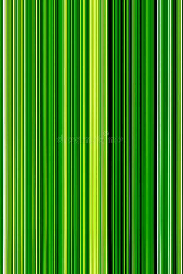 Abstracte achtergrond van verticale groene kleur met lichtgroen col. stock illustratie