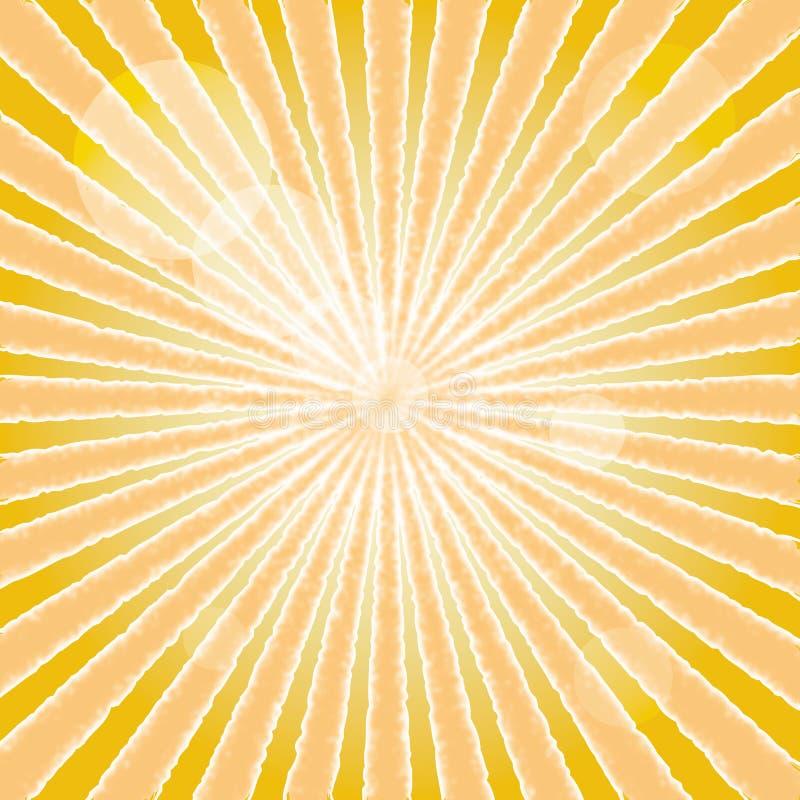 Abstracte achtergrond van zonstraal.